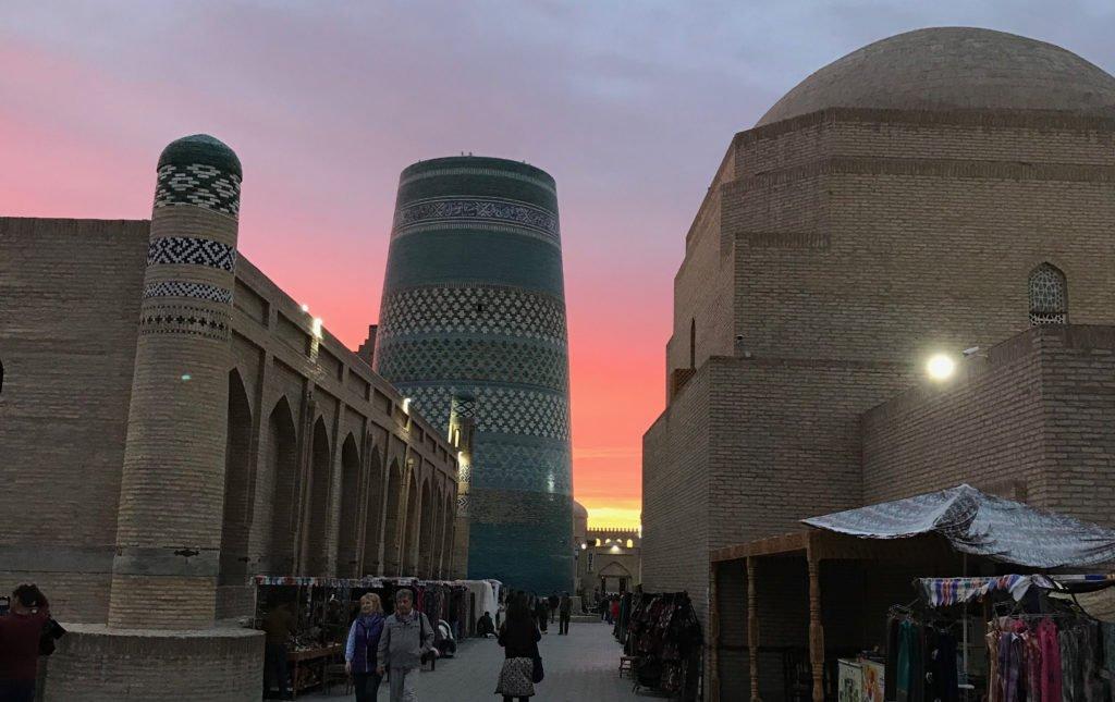 Viaggio a Khiva a aprile