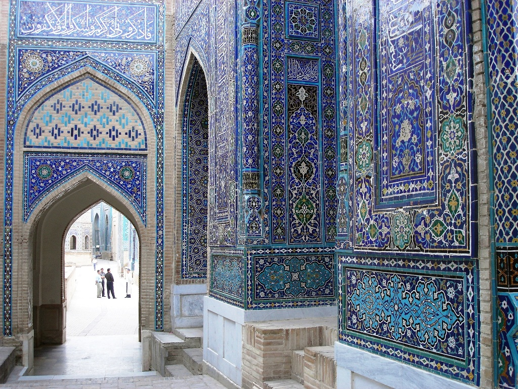 viaggio in uzbekistan shakhi zinda