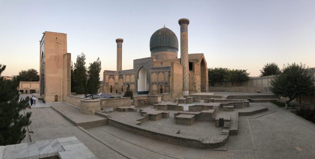 viaggio a Samarcanda Guri Amir