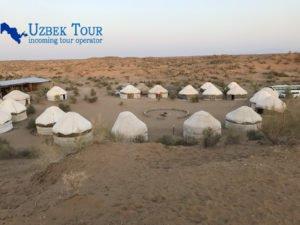 Yurta tour in Ubzekistan