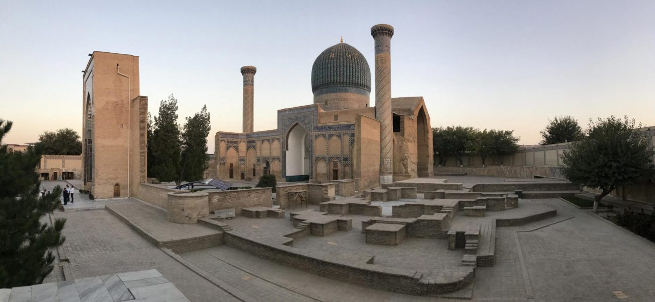 viaggio a Samarcanda Guri Amir Uzbekistan
