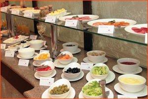 hotals Tashkent breakfast