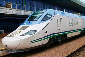 trains Uzbekistan