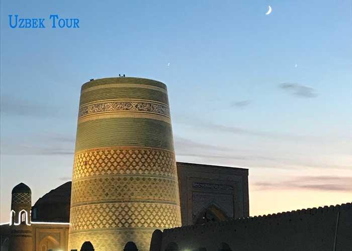 kalta minor a Khiva
