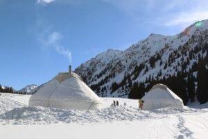 kirghizistan inverno