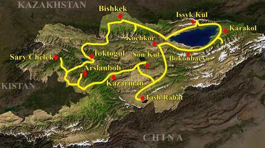 kirghizistan 14 giorni