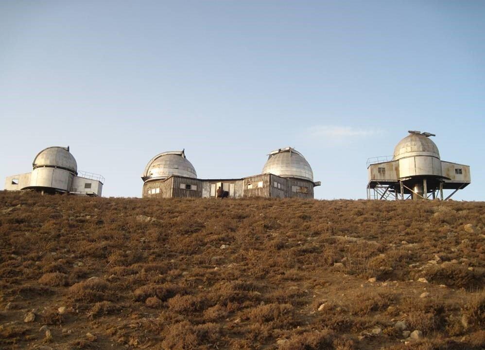 L'osservatorio di Maidanak in Uzbekistan