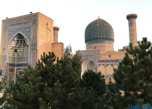 tour una settimana in uzbekistan