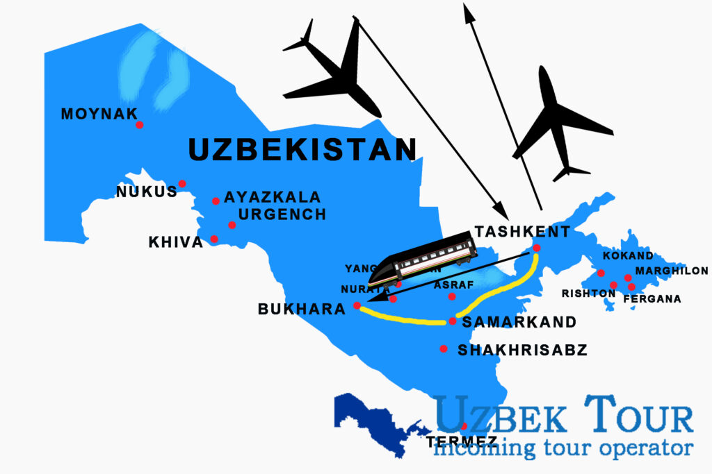 5 days - 4 nights tour to Uzbekistan